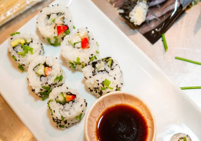 1.5 Hour Online Private Sushi Workshop  Suitable for All the Family Image 5