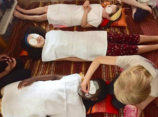 kids spa experience parties London, Essex, Sussex, Cambridge Image 4