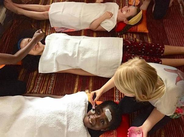 kids spa experience parties London, Essex, Sussex, Cambridge Image 3