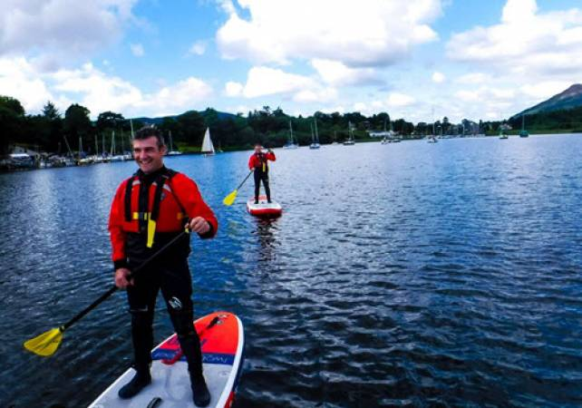 River Paddle Boarding in the Lake Districti for the Family - Over 7yrs + Image 3