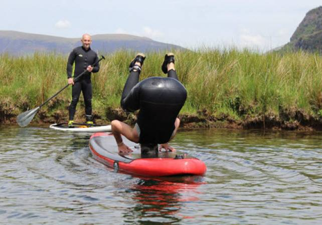 River Paddle Boarding in the Lake Districti for the Family - Over 7yrs + Image 2