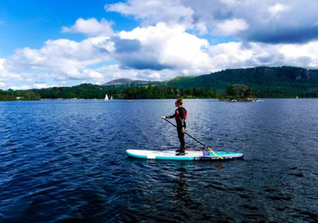 Lake Paddle Boarding in the Lake Districti for the Family - Over 7yrs + Image 5