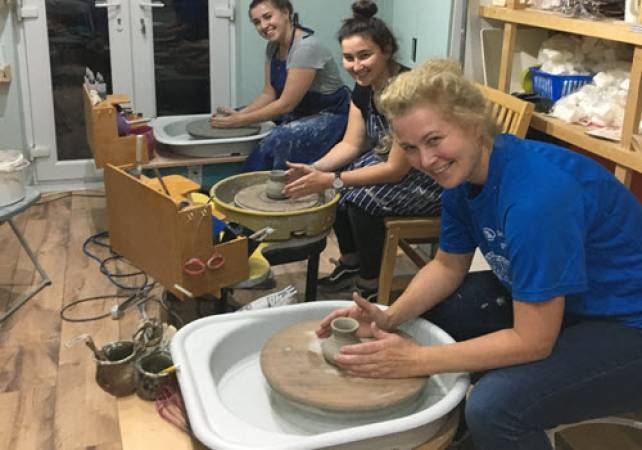 Pottery Classes West Yorkshire Suitable for 10yrs + All Abilities Image 1
