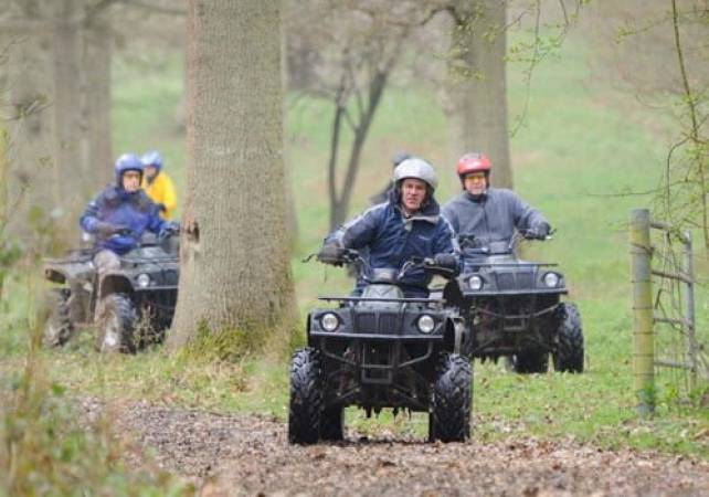 2 Hour Quad Biking and Apache Rally Driving  - Kent for 11 years+ Image 1