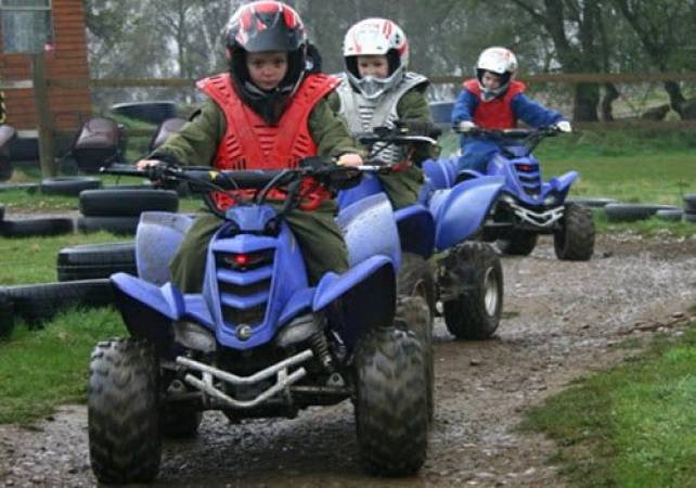 Junior Quad Biking in Nottingham for age 6-14 Years inclusive Image 1