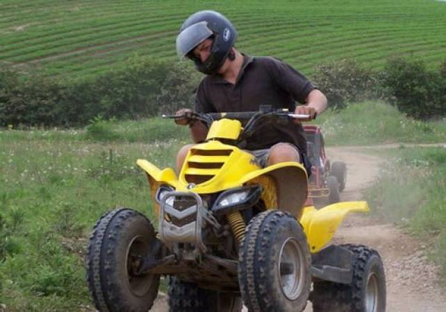 Adult Quad Biking in Nottingham Fun Day Out Off Road Experience Image 1