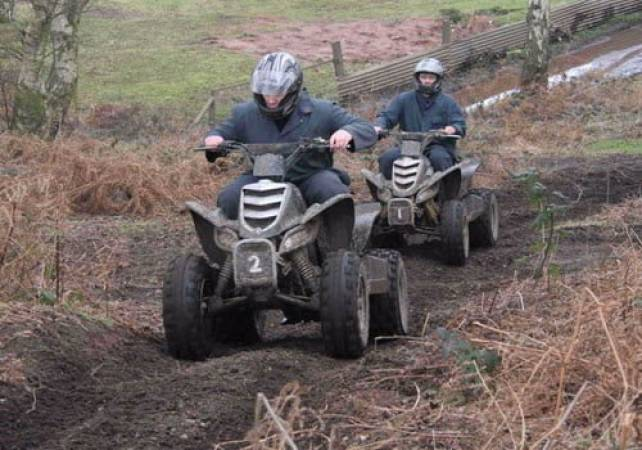 Adult Quad Biking in Nottingham Fun Day Out Off Road Experience Image 2