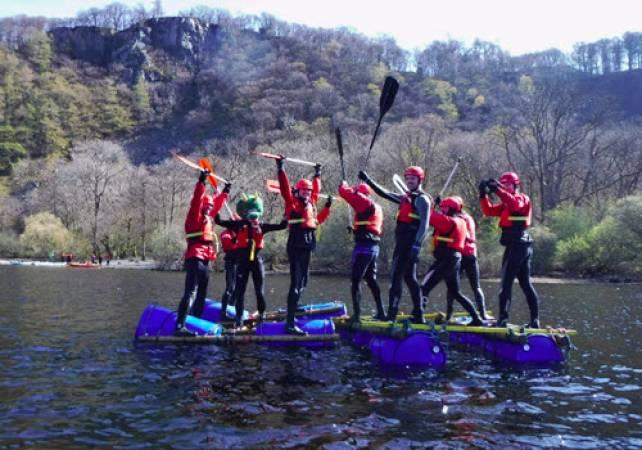 Raft Building in the Lake Districti Family Fun min age 7yrs + Image 1
