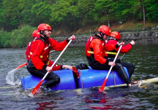 Raft Building in the Lake Districti Family Fun min age 7yrs + Image 3