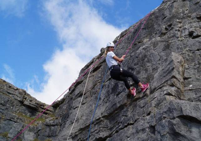 Rock Climbing and Abseiling With Expert Tuition in North Wales Image 5