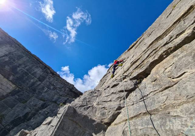 Rock Climbing and Abseiling With Expert Tuition in North Wales Image 3