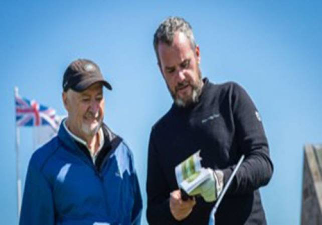Golf Gifts For Him 1 Hour Lesson & 18 Holes with a Pro @ St Andrews Image 2