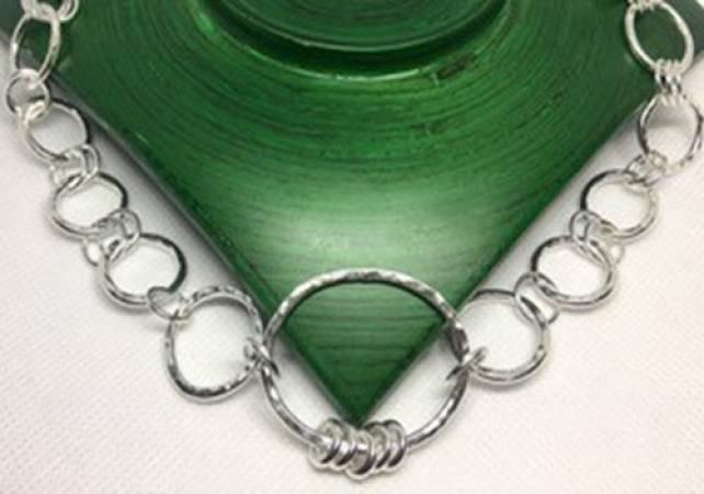 Silver Charm Bracelet workshop in Kent, design and make jewellery Image 2