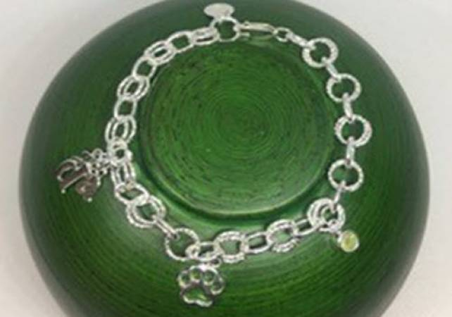 Silver Charm Bracelet workshop in Kent, design and make jewellery Image 3