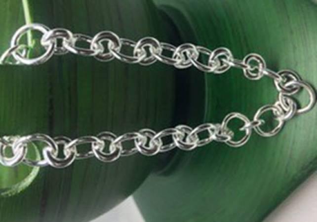 Silver Charm Bracelet workshop in Kent, design and make jewellery Image 5
