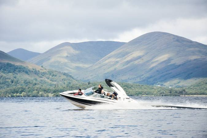 Speedboat Tour on Loch Lomond, The Trossachs for upto 8 People Image 3