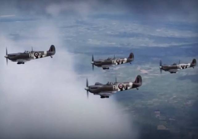 Flight Simulator Spitfire WWII Experience in Newcastle, 8 Years + Image 2