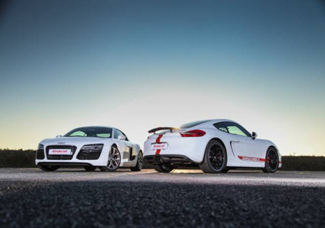 Supercar driving experiences in Cheshire - voucher experience Image 5