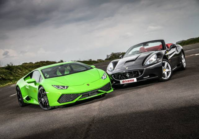Supercar driving experiences in Cheshire - voucher experience Image 1