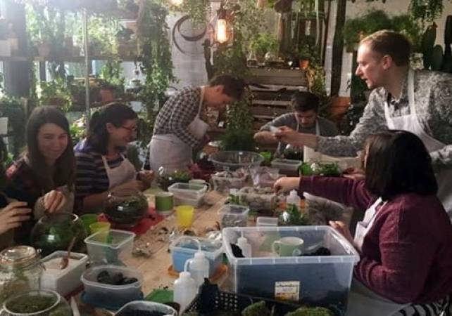 90 Minute Build Your Own Terrarium Workshop London Image 6