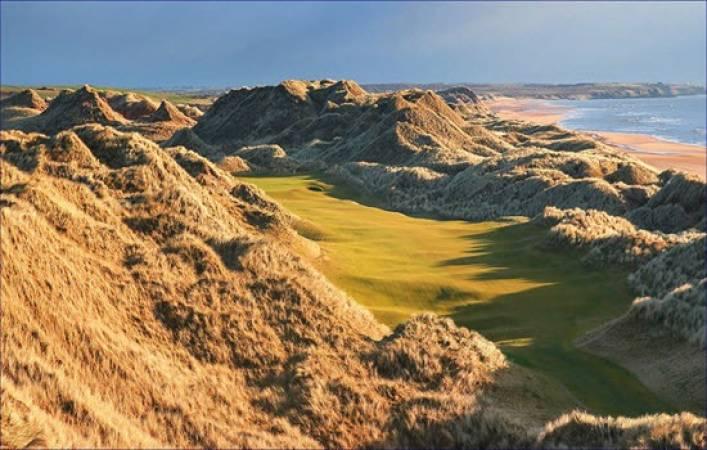 Golf coaching at Trump International Scotland Gift Experience Image 5