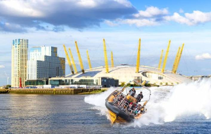 Ultimate O2 RIB Blast on the Thames  - Exhilarating Rib Ride London Image 1