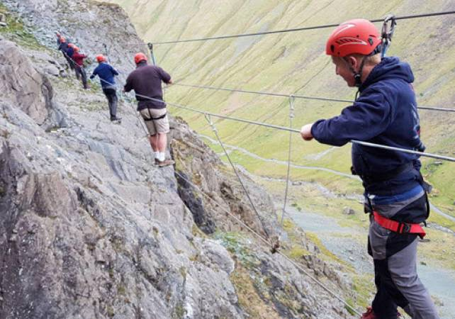 Via Ferrata Extreme in the Lake District min age 10 yrs + Image 4