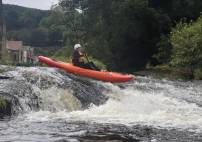 Thumbnail - White Water Kayaking in North Wales for 1.5 Hours on the River Dee Image 1