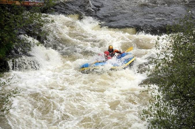Whitewater Rafting Experience  on a natural river, the River Dee Llangollen Image 3