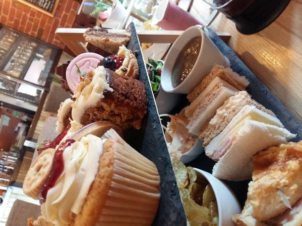 Deluxe Afternoon Tea Black Sheep Tearoom, Lytham Image 1
