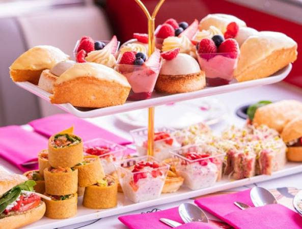 Afternoon Tea Bus B Bakery in London Voucher experience Image 1