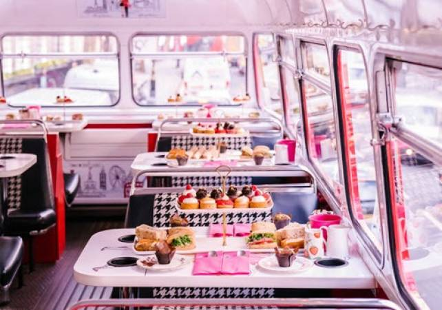 Afternoon Tea Bus B Bakery in London Voucher experience Image 6