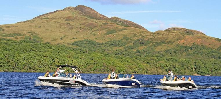luxury speedboat tour on Loch Lomond in Scotland Image 4