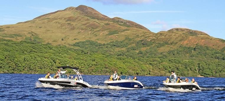 luxury speedboat tour on Loch Lomond in Scotland Image 4