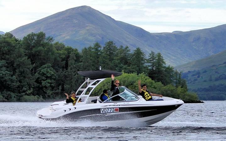 luxury speedboat tour on Loch Lomond in Scotland Image 5
