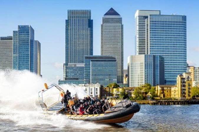 Canary Wharf RIB Experience on Thames  - Exhilarating Rib Ride London Image 1