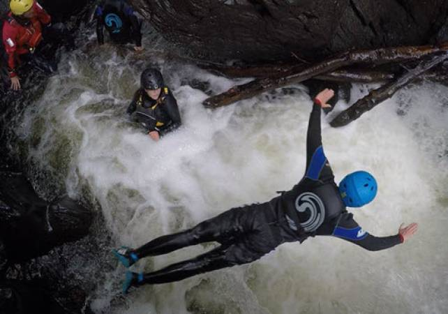 Canyoning in One of Stirlingshire's Rivers Suitable for 12 Years + Image 1