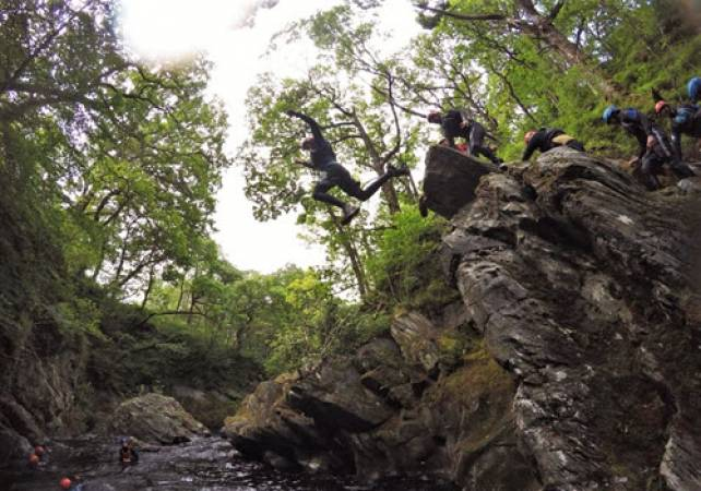Canyoning in One of Stirlingshire's Rivers Suitable for 12 Years + Image 2