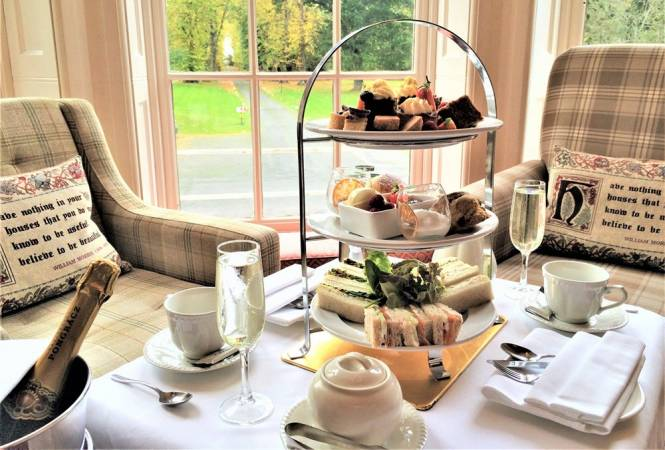 Champagne Afternoon Tea at Carberry Tower Mansion House and Estate Image 1