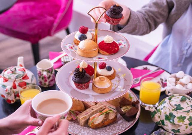 Afternoon Tea Bakery Covent Garden London - Add Prosecco & Gin Image 2