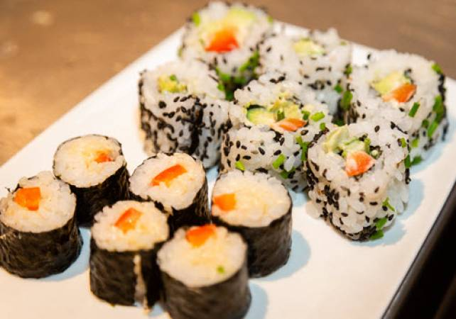 1.5 Hour Online Private Sushi Workshop  Suitable for All the Family Image 1