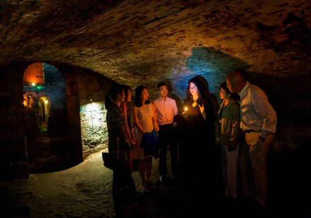 Daytime ghost tour Blair Street Underground Vaults Edinburgh Image 4