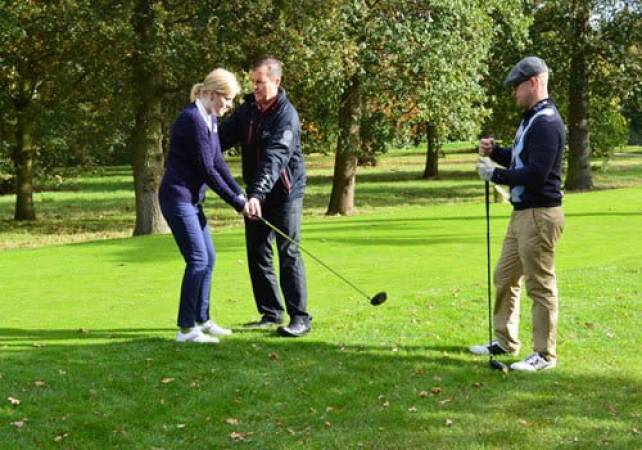9 Hole Golf Lesson With a PGA Pro  at 140 UK Locations Image 1