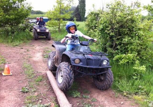 Junior Off Road Driving Days  - West Malling, Kent for 11 years+ Image 1
