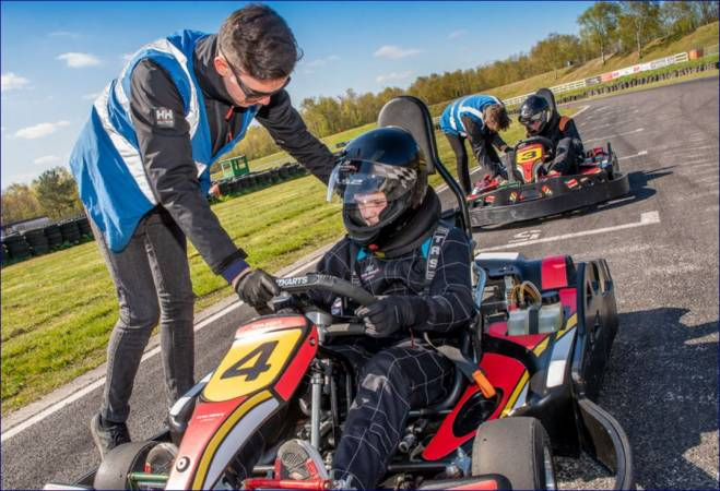 Karting for Intermediates 8 -15 yrs Suitable for Experienced Driver Image 1