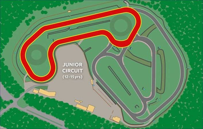 Karting for Intermediates 8 -15 yrs Suitable for Experienced Driver Image 2
