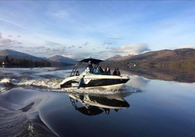 Loch Lomond Speedboat Tour with Lunch or Dinner West of Scotland Image 1
