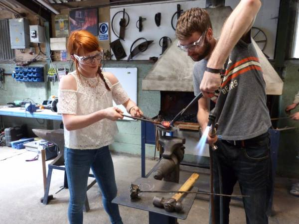 Blacksmith Half Day Experience  - Unique Fun Day Out in Hereford Image 3