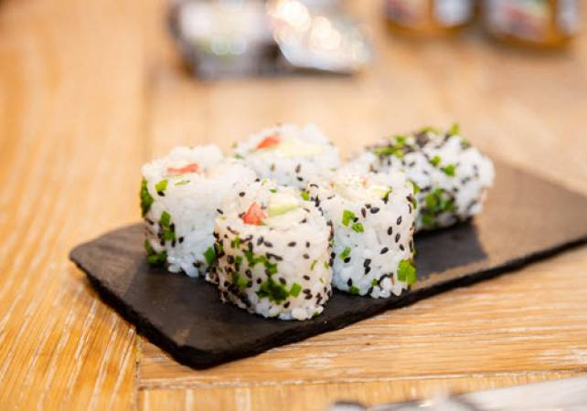 1.5 Hour Online Private Sushi Workshop  Suitable for All the Family Image 4