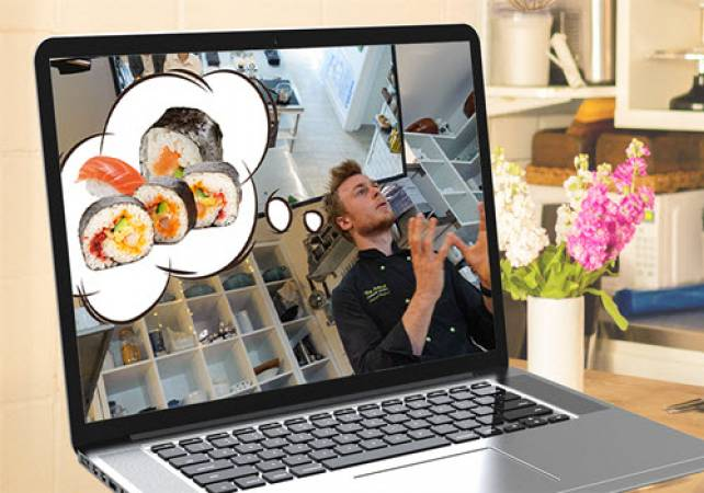 1.5 Hour Online Private Sushi Workshop  Suitable for All the Family Image 2